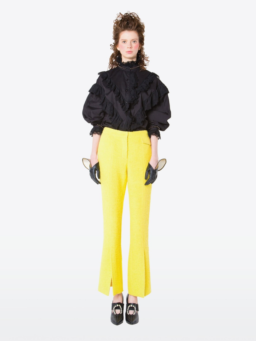 YELLOW TRUMPET PANTS